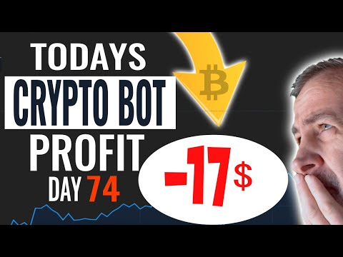 Day 74 Bitcoin Trading Bot Results