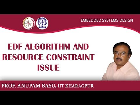 EDF Algorithm and Resource Constraint Issue