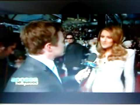 Celine Dion Oscars 2011 Access Hollywood Interview