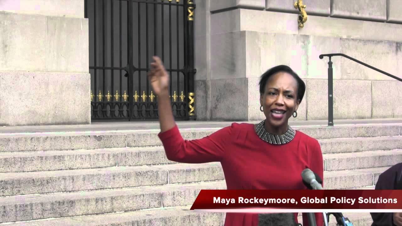 Maya Rockeymoore speaks at Fiscal Summit - YouTube