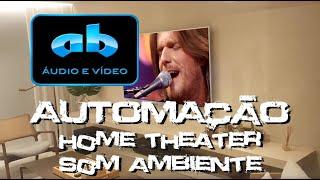 AB ÁUDIO E VÍDEO - AUTOMAÇÃO CRESTRON - HOME THEATER - SOM AMBIENTE - FLORIPA