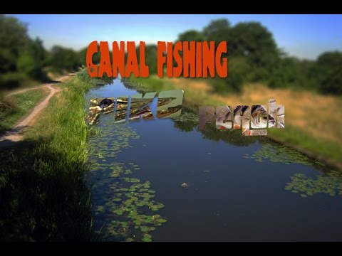 Lure fishing for Pike and Perch on Grand Union Canal
