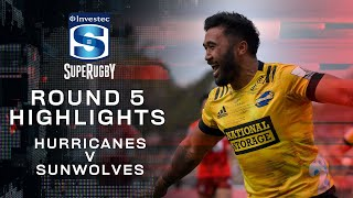 ROUND 5 HIGHLIGHTS | Hurricanes v Sunwolves – 2020