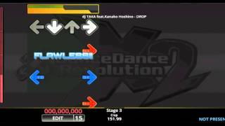 [DDR EDIT] DROP / dj TAKA feat. Kanako Hoshino (Lv. 15)