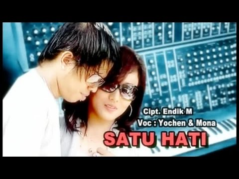 Yochen Amos Ft. Mona Latumahina - Satu Hati (Official Lyrics Video)