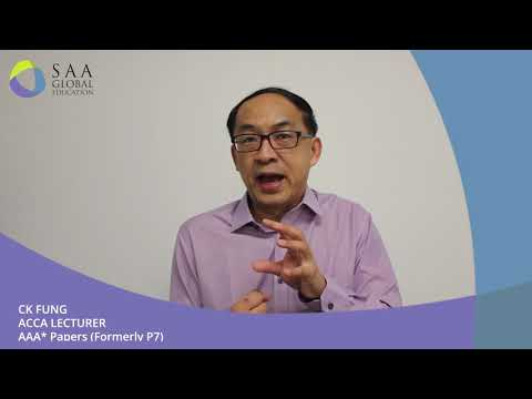 ACCA Course Singapore | Accounting Course - SAA Global Education