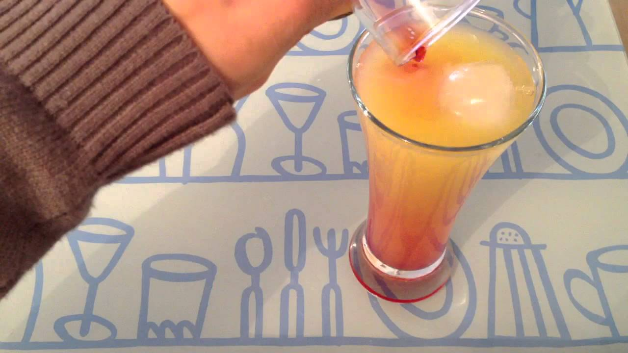 Faire des cocktails