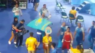 Данияр Елеусинов (КАЗАХСТАН) - Олимпийский чемпион-2016 по боксу в Рио-де-Жанейро