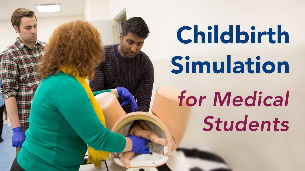 Birth Simulator Mannequins Deliver Training To Medical Students And OB/GYN  Doctors   YouTube