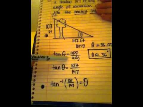 How To Find The Angle Of Elevation Of The Sun Using The Shadow Of - How to determine elevation