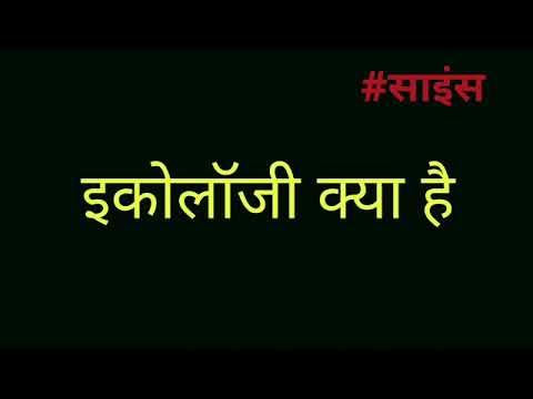 what is ecology in hindi । इकोलॉजी मीनिंग इन हिंदी