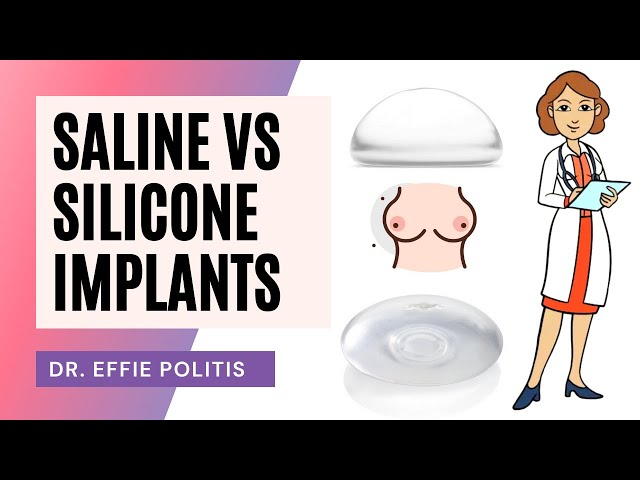 Saline vs  Silicone Implants
