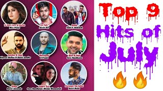 Top 9 Punjabi Hits Songs of July 2018 Latest Punjabi Songs Subscribe for Another Month