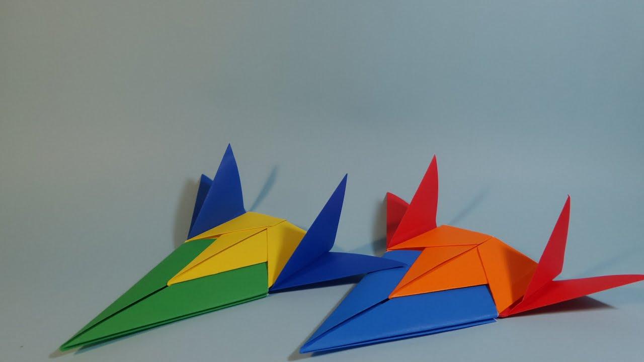 ��������� ������� origami confetti ship planes youtube