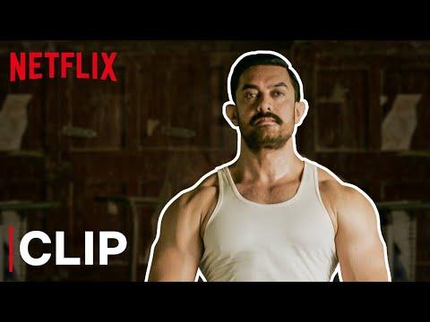 Aamir Khan's Crazy Fight Scene | Dangal | Netflix India