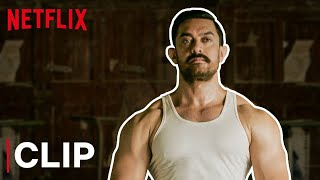 Aamir Khan's Crazy Fight Scene | Dangal | Netflix India