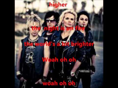 Reckless Love - Night On Fire Lyrics