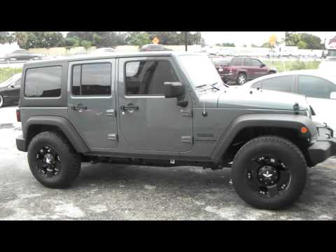 DUBSandTIRES.com 17 Inch XD Series Rockstar Black Wheels 2014 Jeep Wrangler Review Offroad rims