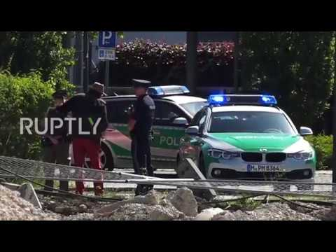 Germany: Female officer shot and injured at metro station in Munich, suspect detained
