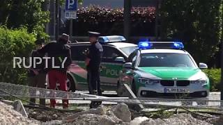 Germany  Female officer shot and injured at metro station in Munich, suspect detained
