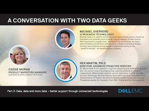 [Data Geeks Podcast]: Data, Data and More Data – Better Support Through Connected Technologies