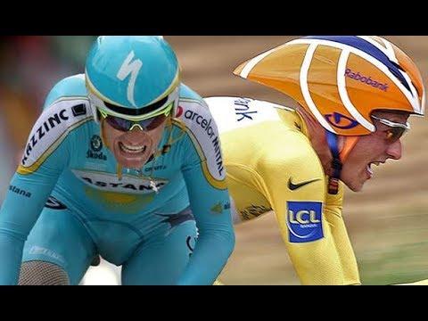 Tour de France 2007 - stage 13(time trial) Vinokourov is superhuman, Rasmussen passes Valverde