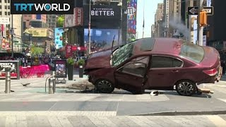 Time Square Crash: Car plowed through crowds in Manhattan