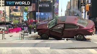 Time Square Crash: Car plowed through crowds in Manhattan