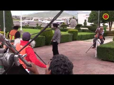 """Detrás de cámaras de """"Señora Acero"""" con Miguel Varoni, Blanca Soto y Litzy"""