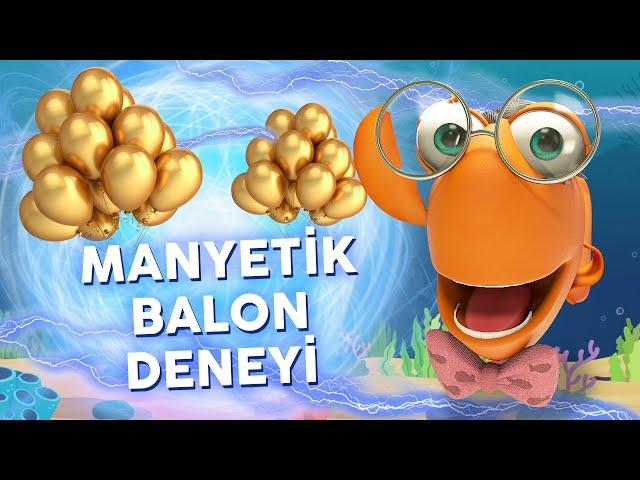Profesör Balık İle Deneyler: Manyetik Balon
