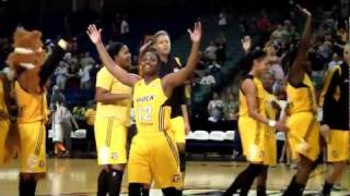 Tulsa Shock victory celebration