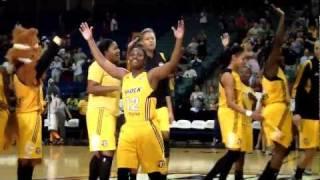 Tulsa Shock victory celebration