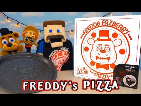 Five Nights at Freddy&39;s Fazbear&39;s Pizza Pizzeria Simulator Gift Box Toy Fnaf Unboxing