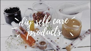 ✩ diy self care products ✩