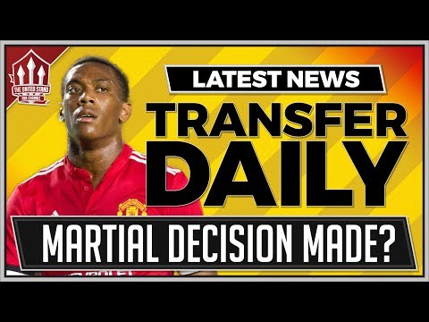 Mourinho Makes Martial Transfer Decision? Man Utd Transfer news