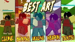 Top 5 ARTS in Shinobi Story Origin | What Is The Best Art? | Roblox | ( Roblox Shinobi Origin