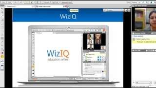 WizIQ Virtual Classroom Features