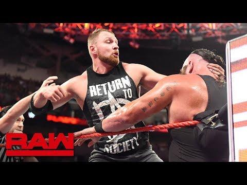 Dean Ambrose vs. Braun Strowman: Raw, Oct. 1, 2018