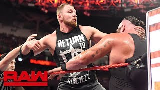 Dean Ambrose vs. Braun Strowman: Raw, Oct. 1, 2018