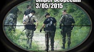Airsoft Sniper Scopecam Gameplay ⊕2 / Montboucher sur Jabron / 3/05/2015