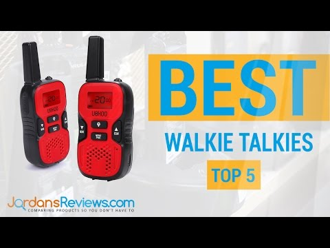 Find the Best Walkie Talkies | Compare 2 Way Radios Reviews 2016