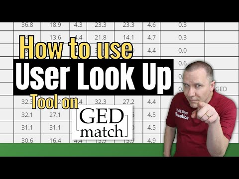How to use the GEDmatch User Information Lookup Tool - A Segment of DNA