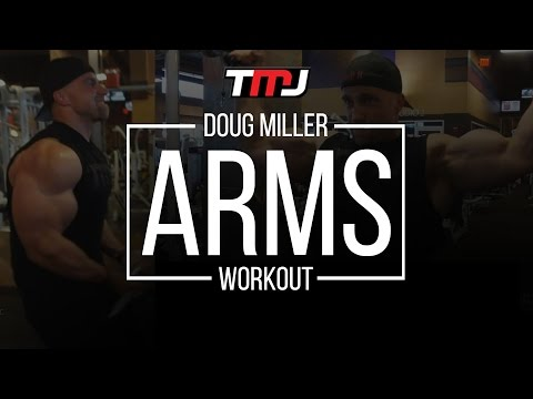 Doug Miller Arms Workout | In The Gym With Team MassiveJoes | 11 September 2016