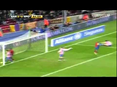 Daniel Alves 2008 2009 all Goals