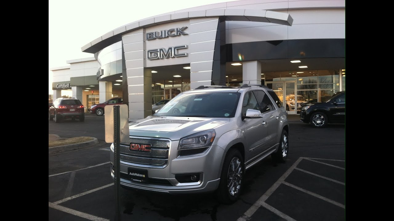 2014 gmc acadia denali awd start up in depth tour and review youtube. Black Bedroom Furniture Sets. Home Design Ideas