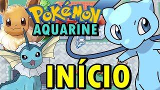 Pokémon Aquamarine (Hack Rom - GBA) - O Início