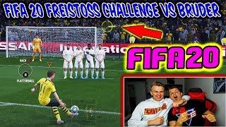 FIFA 20: BRUDER mit Traumtor in letzter Sekunde bei FREISTOß Challenge! - Demo Ultimate Team