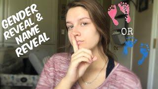 Gender Reveal + Name Reveal   Teen Mom