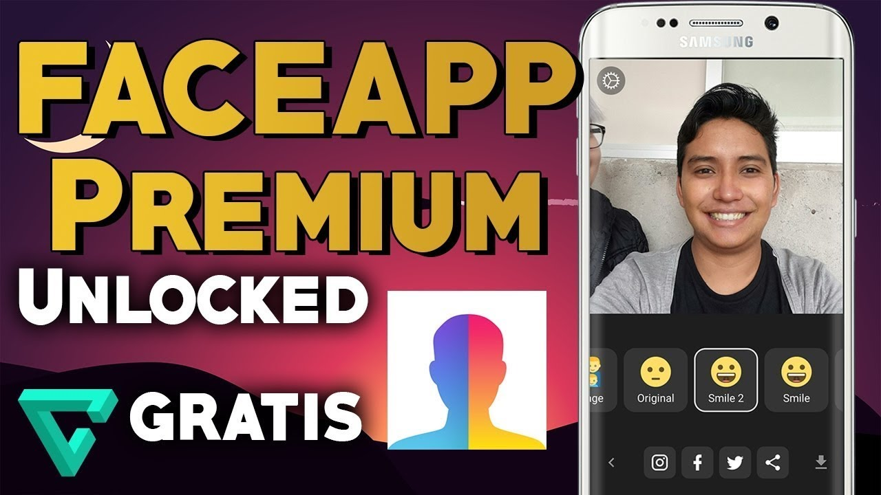 Descargar FACEAPP PRO gratis y facil 2019 Version Mod Apk