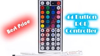 ██-RGB MUSIC CONTROLLER With RF Touch Remote-██ ⓇⒼⒷ☄ RGB Control(12V input RGB Led Controller with 44 Button IR Remoter, 6 Key DIY MODE Buy from Online Shop ..., 2013-11-13T10:00:35.000Z)